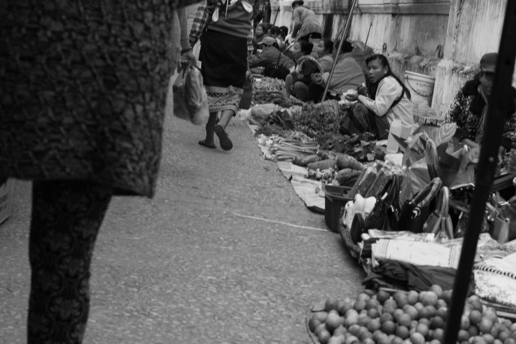 marché du matin : Etalage de nourriture, d'aliments, variés, (Hamster, insectes, etc..)