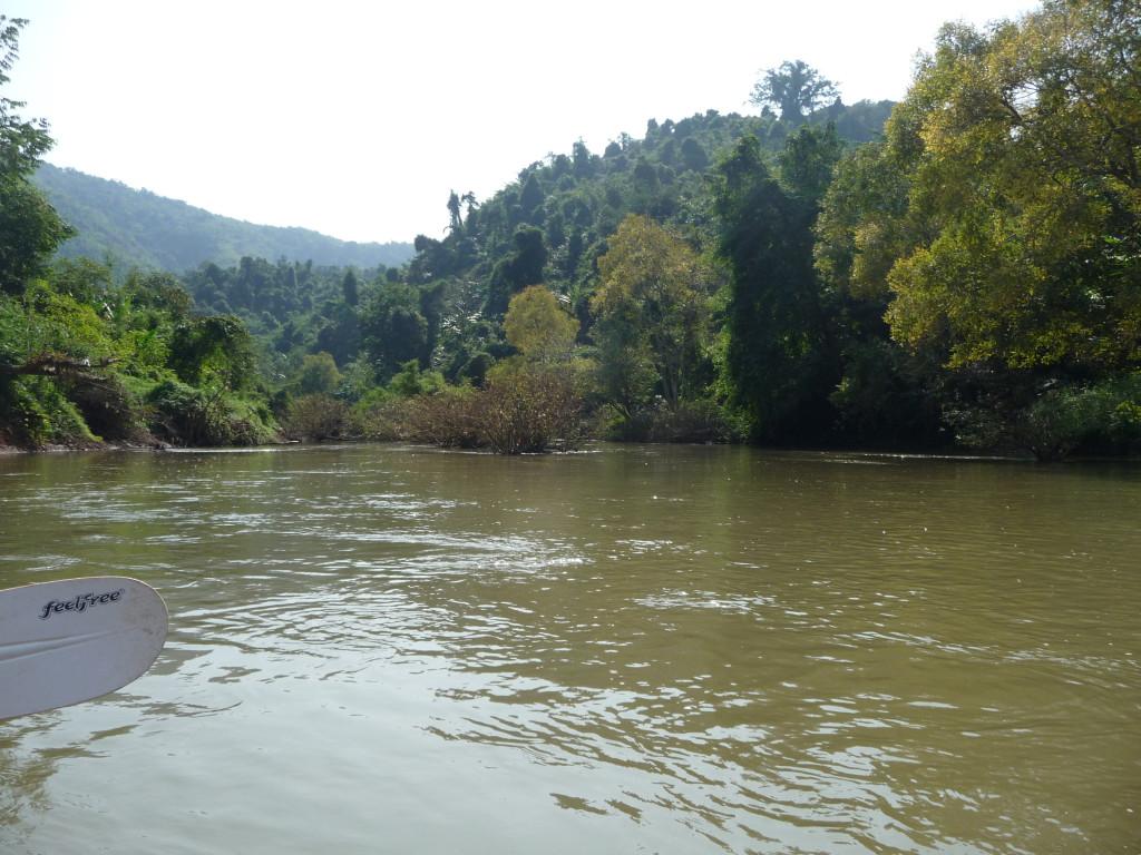 Paysage sur la Nam Tha