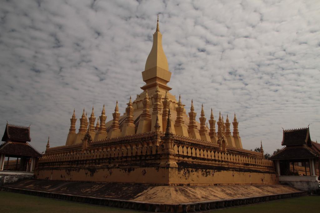 Pha That Luang (symbole du Laos)