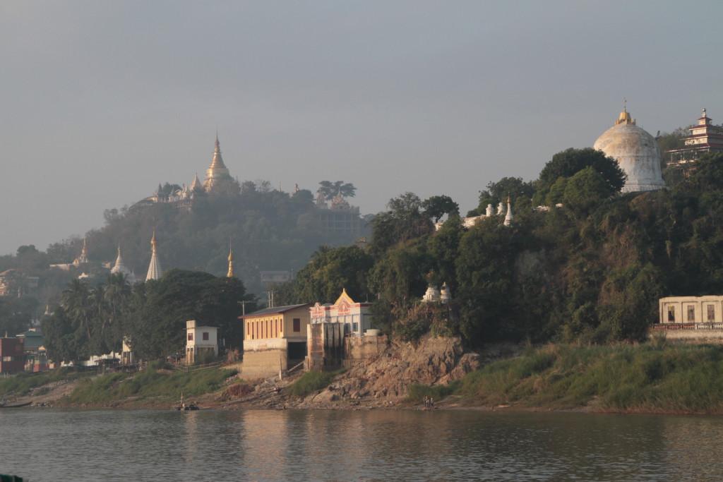 Un fret fluvial plus important que sur le Mékong.