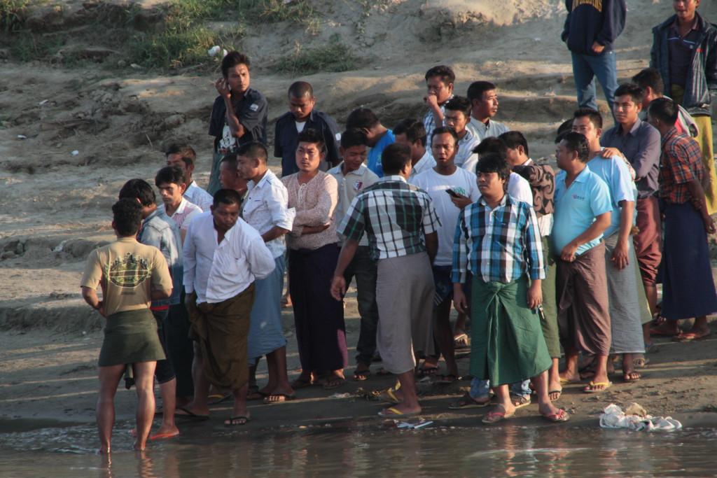 l'arrivé à Bagan