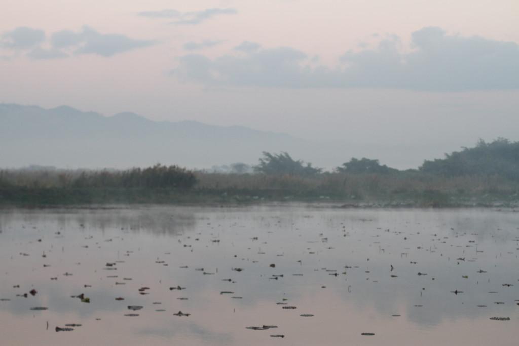 Lac Inle au petit matin