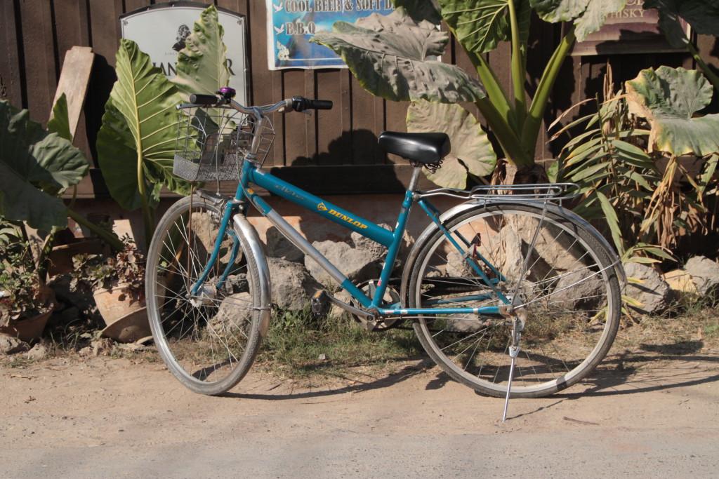 Le vélo (les vitesses ne fonctionnaient pas !)